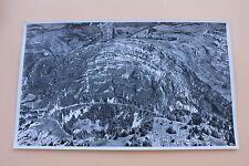 Photographie aérienne géologie Jura pli calcaire Saint claude 45*27 Septmoncel