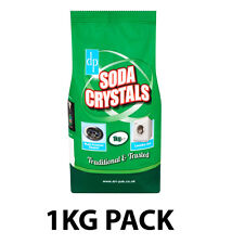 1Kg Dri-Pak (dp) Soda Crystals For Household Cleaning Unblock Sinks Drains +More