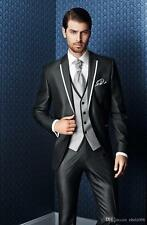 Newest Mens Wedding Suits Groom Tuxedos Business Suits Formal Occasion Blazers