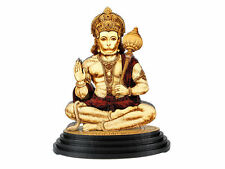 Car Dashboard Statue Religious Hindu God Hanuman Wood Carved figurine