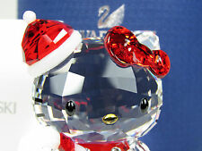 SWAROVSKI HELLO KITTY SANTA RETIRED 2014 MIB #1142935