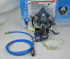 3M 7502 Gas Mask Form a complete set of Circulating air supply free shipping