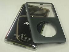 New iPod 6th 7th Gen Classic Charcoal Front Faceplate 256GB Back Cover Housing