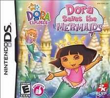 Dora the Explorer: Dora Saves the Mermaids Nintendo DS 2007 complete