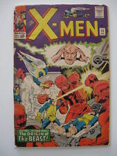 *X-MEN V. 1 #15 g Origin Beast