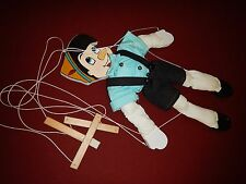 "Wooden Marionette Puppet Doll Pinocchio 22""  Handmade Wood Toy"