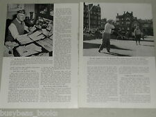 1952 magazine article, Playing 3,000 GOLF Courses In 14 Lands, worldwide golfing