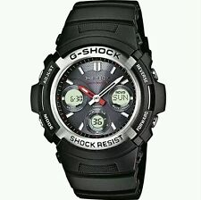 CASIO G-SHOCK SOLAR POWER RADIO CONTROL SPORT WATCH. AWG-M100-1AER. NEW IN BOX.
