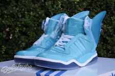 ADIDAS ORIGINALS JS SHARK FIN SZ 9 BLUE BRAKE TAIL LIGHTS JEREMY SCOTT S77799