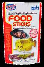 HIKARI TROPICAL CARNIVORE FOOD STICKS 2 OZ AROWANA FISH FOOD CARNIVOROUS FISH!