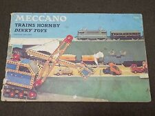 Catalogue MECCANO TRAINS HORNBY DINKY TOYS  1959