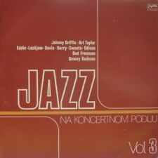 "Jazz Na Koncertnom Podiju Vol 3 LP vinyl 12"" 33rpm rare record (mint)"