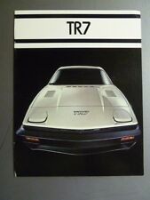 1977 Triumph TR7 Showroom Sales Brochure RARE Awesome L@@K