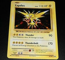 Zapdos 42/108 XY Evolutions HOLO Rare Pokemon Card NEAR MINT