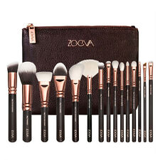 ZOEVA 15pcs Rose Golden Complete Makeup Brushes set Luxury Make Up Tools Set