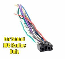 JVC KD-X250BT KD-X31MBS KD-X50BT KD-S48 KD-S88BT KD-X80BT Wire Harness
