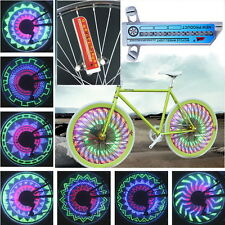 32 LED Patterns Cycling Bikes Bicycles Rainbow Wheel Signal Tire Spoke Light F72