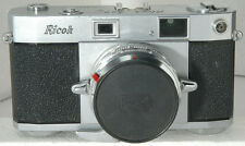 Ricoh 500 35mm rangefinder camera, ca 1958 early version, looks & works fine