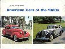 American Cars of the 1930s GM Ford Chrysler Hudson Packard + Auto Library 1985