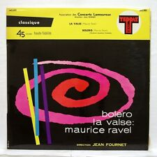 JEAN FOURNET - RAVEL bolero, la valse ULTRA RARE TEPPAZ 45rpm LP EX+