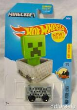 Minecraft Minecart Die-Cast Model From HW Ride-Ons by Hot Wheels