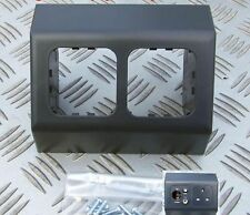 ANGLED BOX for CBE & C-LINE SOCKETS & SWITCHES DARK GREY MOTORHOME CARAVAN BOAT