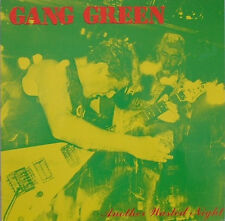 GANG GREEN - ANOTHER WASTED NIGHT LP (1986) REPRESS / FIRST LP / BOSTON HARDCORE