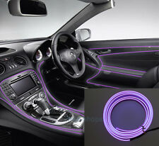 2M 12V EL Wire Purple Cold light Neon Lamp Atmosphere Unique Decor For Ford #2