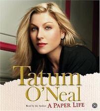 A Paper Life – Tatum O'Neal Audio Book CD Abridged Used
