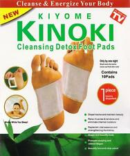 10X Kinoki Herbal Detox Foot Pads 10 Detoxification Cleansing Patches  FREE SHIP