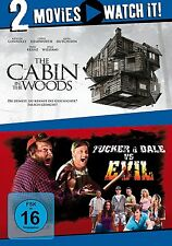 2 DVDs * 2 MOVIE - THE CABIN IN THE WOODS / TRUCKER & DALE VS EVIL # NEU OVP §