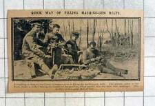 1915 Machine Used For Filling Machine-gun Belts At The Front