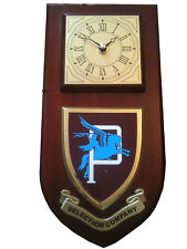 Parachute Regiment P Company Selection Para Military Wall Plaque & Clock