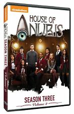HOUSE OF ANUBIS - SEASON 3 VOLUME 2  -  DVD - REGION 1 - Sealed