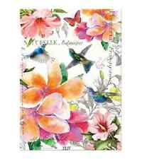 PARADISE Cotton Kitchen Towel by  Michel Design Works - Flowers, Hummingbirds