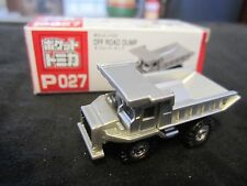 Tomica Taito Prize Half Size P027 Off Road Dump Truck SILVER N Scale 1:160
