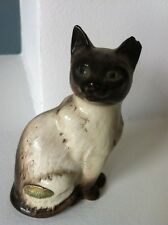 Chat siamois modèle N°1887 faience vintage 50/60 Beswick England