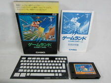 MSX GAME LAND Casio Import Japan Video Game 0278 msx