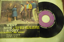 """GIANFRANCO INTRA""""WEST SIDE STORY-disco 45 giri BLUEBELL It 1963"""" OST"""