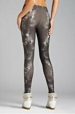 WOMENS GUESS SUBLIMATED LEGGINGS SZ X-SMALL