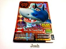 Animal Kaiser English Version Ver 5 Bronze Card (A044: Blue, the Young Shark)