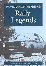 FORD ARCHIVE GEMS RALLY LEGENDS DVD. 68 Mins. FORD ESCORT MK1 & 2. DUKE 3974NV