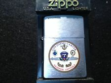 "Zippo Lighter USS JIMMY CARTER SSN 23 ""SEMPER OPTIMA"" - US NAVY 2003"