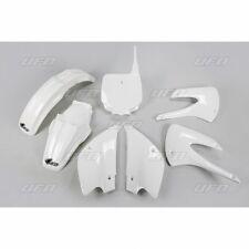 UFO Motocross Plastic Kit Kawasaki KX 85 2013 White Colour KAKIT218E-047