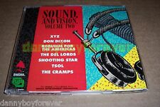 Sound and Vision Volume 2 Two XYZ Don Dixon The Del Lords Shooting Star Cramps