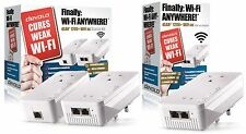 DEVOLO 9392Z POWERLINE DLAN 1200+ WiFi AC PASSTHROUGH TRIPLE ADAPTER NETWORK KIT