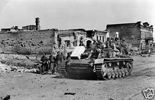 German StuG III Assault Gun Stalingrad Russia Oct 1942 World War 2, 6x4 Inch