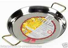 NEW GARCIMA PAELLA PAN STAINLESS STEEL 34cm COOKING COOKWARE KITCHEN PANS SPAIN