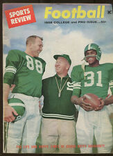 Sports Review Football 1958 College and Pro Issue vo. 18, no. 5  MBX40