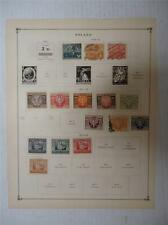 Lot of 28 Vintage Poland Postage Stamps 1919-1923 On Page - Make an Offer